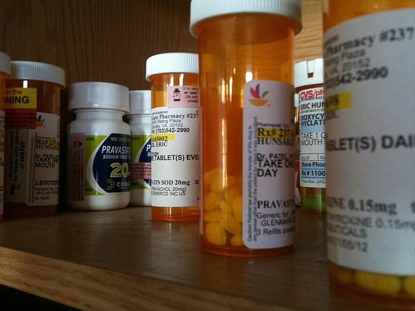 Prescription medicines are pictured, March 25, 2011.