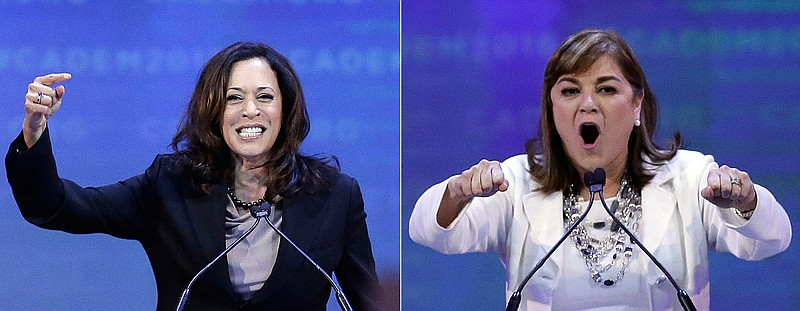 Us Senate Race Shaping Up As A Harris Sanchez Match Kpbs