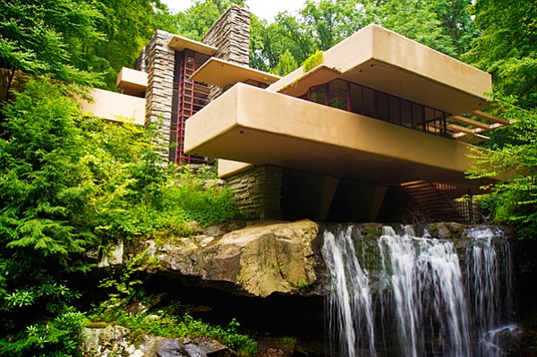 Fallingwater - Often considered the greatest triumph of America's greatest ar...