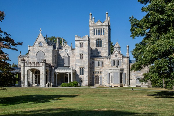 Lyndhurst is the gothic castle on the Hudson River built by former New York C...