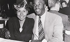 Jackie Robinson and Rachel Isum on their first ...