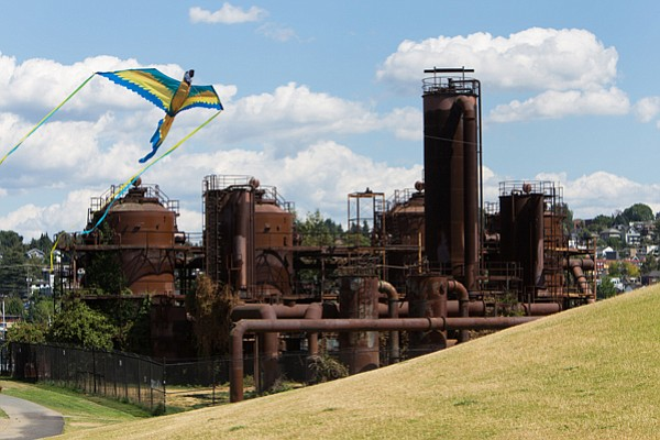 Gas Works Park. In the mid-1970s, landscape architect Richard Haag designed a...