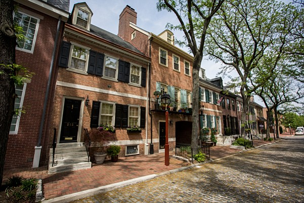Founded by Quaker William Penn as a pacifist outpost, Penn's plan for Philade...