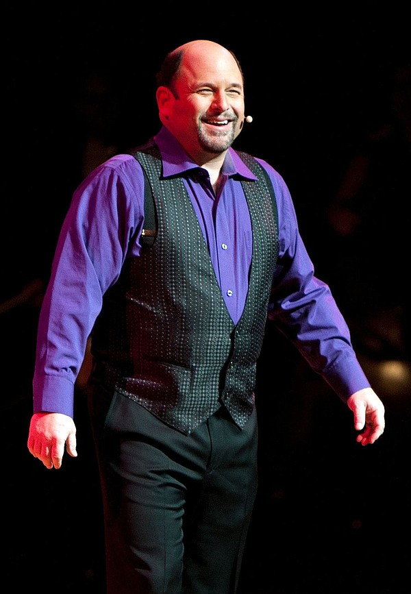 A portrait of Jason Alexander, who performs this weekend ...