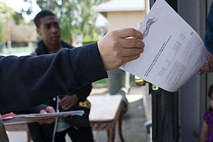 California Democratic, Republican Voter Registrations Dec...