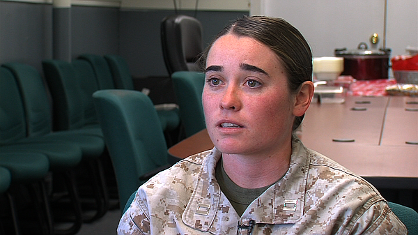 Capt. Brittney Boucher talks about her hopes of becoming ...