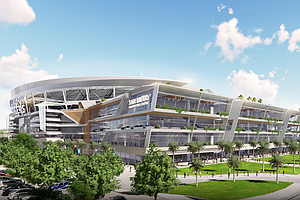 Chargers Release New Renderings Of Downtown Stadium