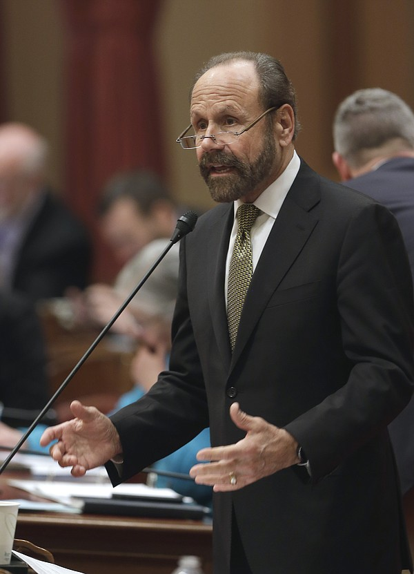 State Sen. Jerry Hill, D-San Mateo, calls on lawmakers to...