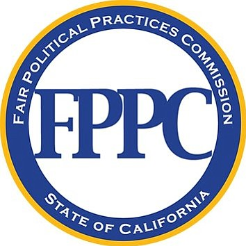 the california fair political practices commission logo