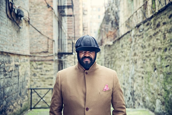A photo of jazz musician Gregory Porter.
