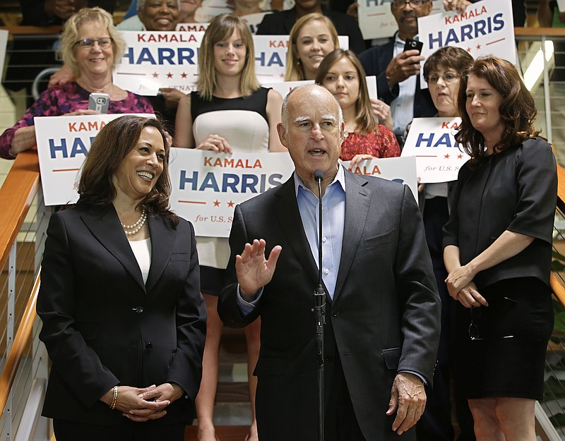 Gov  Brown Endorses Senate Candidate Kamala Harris | KPBS