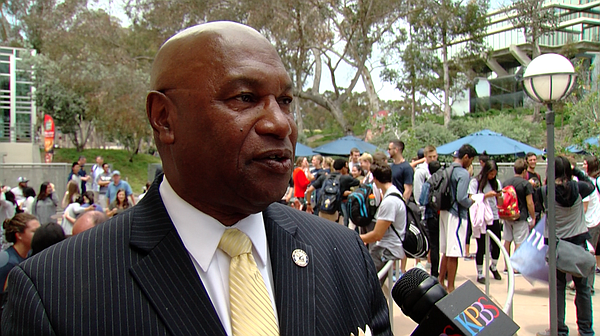 UC San Diego Director of Athletics Earl Edwards discusses...