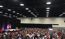 The San Diego Convention Center fills up before...