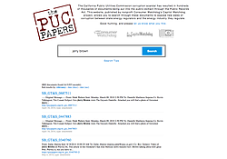 A screenshot of the website pucpapers.org.