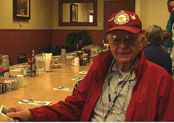 Ed Davidson, a former POW from World War II, reflects on ...