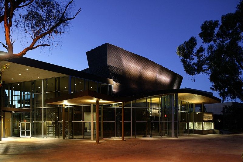 A photo of the exterior of the La Jolla Playhouse.