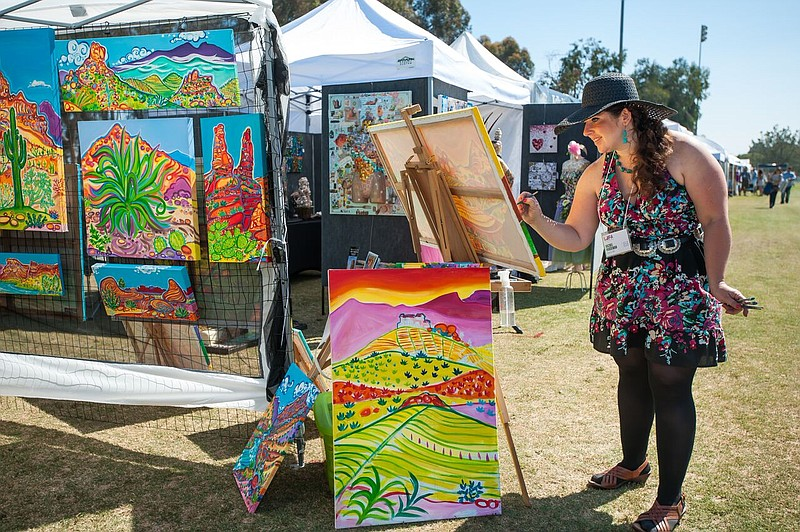A photo from the San Diego Festival of the Arts.