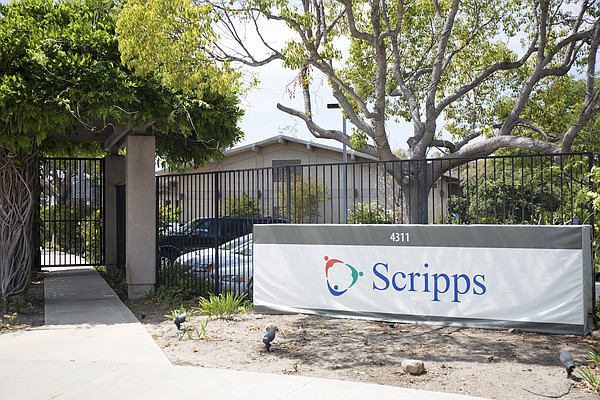 The building that housed the San Diego Hospice, June 8, 2...