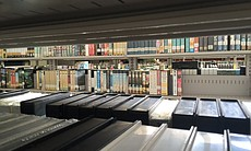VHS tapes up for bid at San Diego's old central...