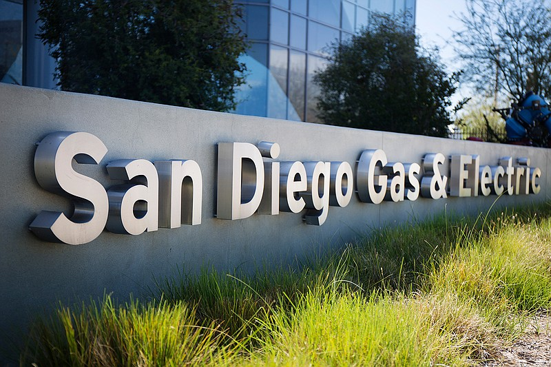 San Diego Gas & Electric headquarters, San Diego,  June 21, 2016.