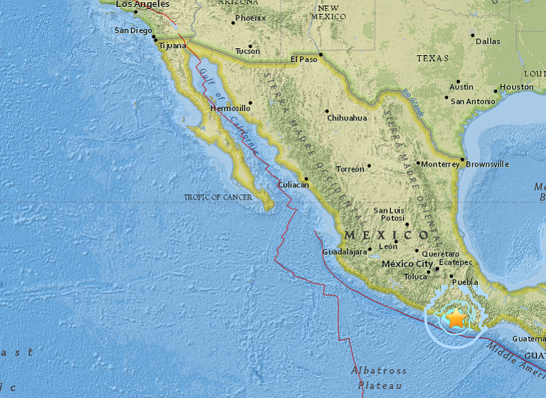 quake hits southern mexico sways tall buildings in capital
