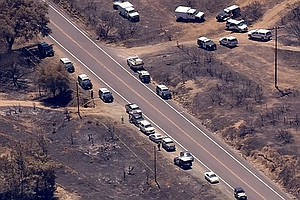 Two People Die In East County's Border Fire