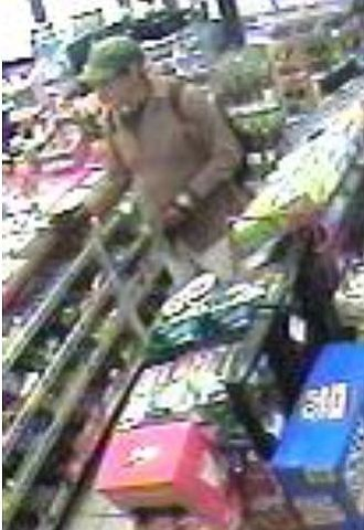 San Diego police released this blurry photo from a conven...