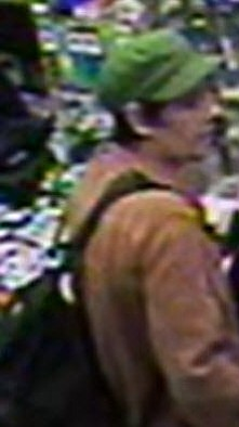 A photo of the suspect San Diego police say is responsibl...