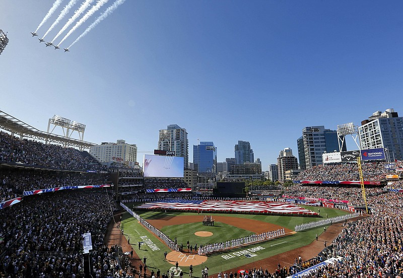 American League Wins All Star Game At Petco Park