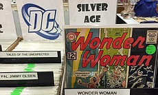 Comic books at Comic-Con International, July 21...