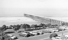 A view of the Scripps Pier, 1915.