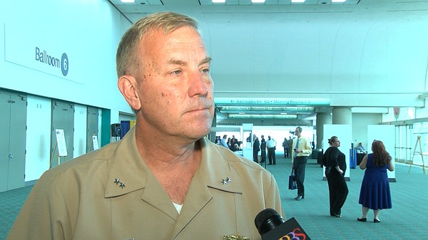 Rear Adm. John Neagley talks about the future of the Litt...