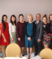 KPBS Development Team with Judy Woodruff