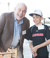 KPBS Producers Club member Don Epstein with his son Ben Epstein