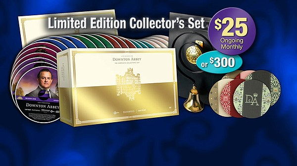Give $25 a month or $300 all at once and receive The Complete Limited Edition...