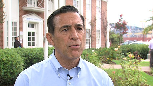 U.S. Rep. Darrell Issa talks about his continued support ...