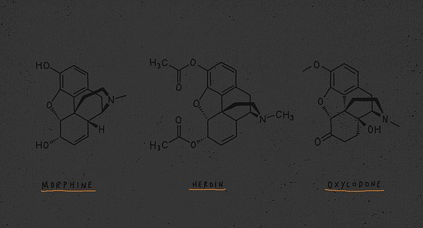 An undated illustration shows the chemical structure of v...