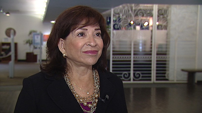 Chula Vista Mayor Mary Casillas Salas talks about the need to work together t...