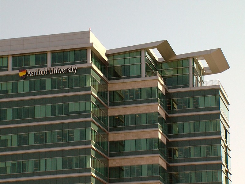 Ashford University is pictured in San Diego in this undated photo.