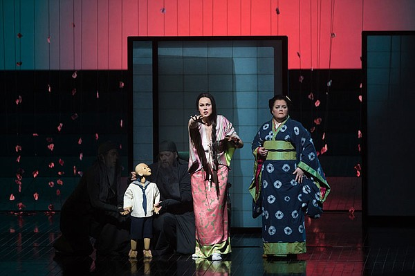 Cio-Cio-San's child (Blind Summit Theatre), Kristine Opol...