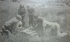 Sixth-grade campers explore nature in Cuyamaca State Park in this undated photo.