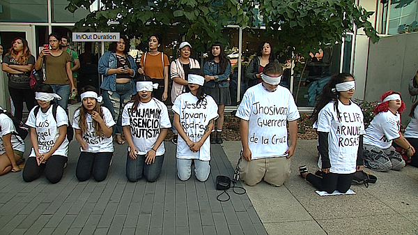 San Diego City College held a rally on the two-year anniv...
