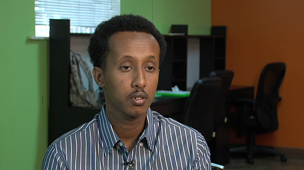 Jama Mohamed discusses his research on mental health amon...