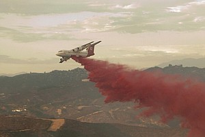 Camp Pendleton Brush Fire Burns 190 Acres, Poses No Threat To Structures