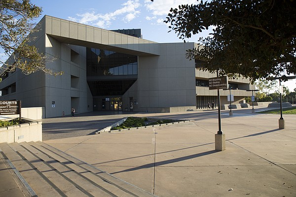 The South Bay Detention Facility in Chula Vista, Sept. 29...