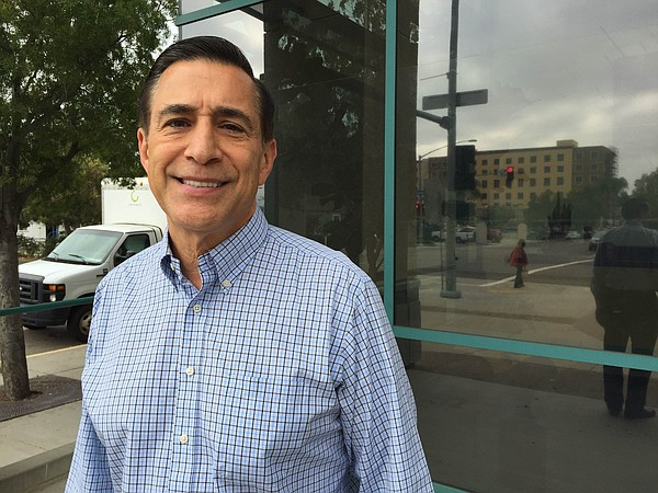Darrell Issa at KPBS, Oct. 12, 2016.