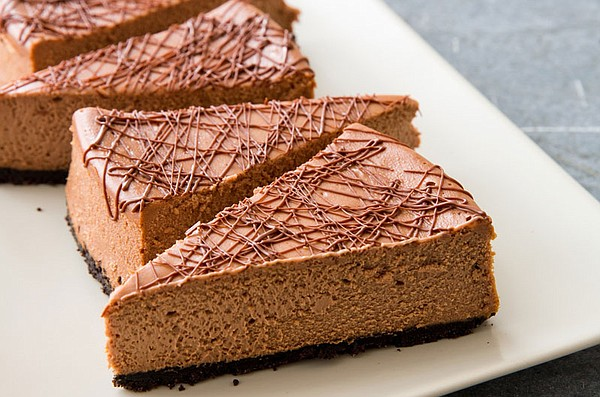 Milk chocolate cheesecake from episode