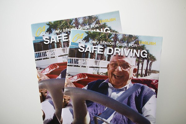DMV fliers available for older drivers, Oct. 19, 2016.