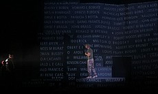 "A scene from ""Soldier Songs,"" an opera by David..."