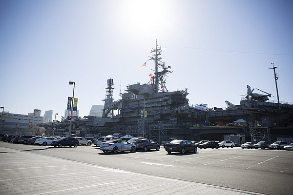 San Diego's downtown Navy Pier has been a parking lot sin...